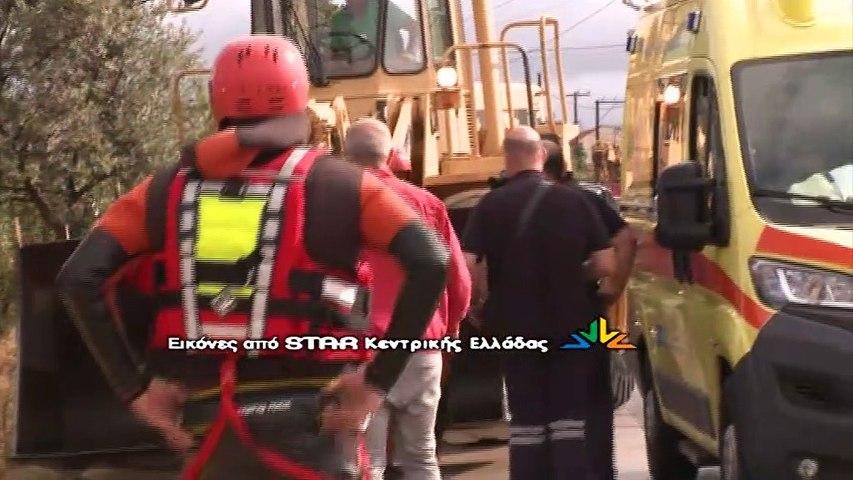 Εικόνες καταστροφής στο Μπούρτζι Ευβοίας