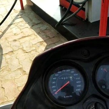 Travelling to by honda shine bike 2020
