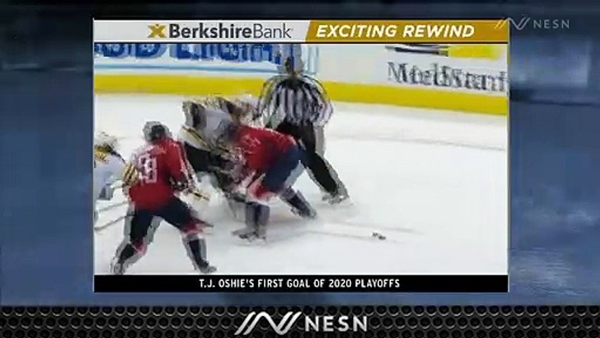 Exciting Rewind: Captials' T.J. Oshie Strikes Late To Give Washington Lead Over Bruins