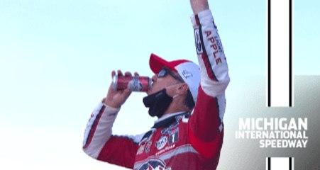 Race Recap: Mich-again for Harvick