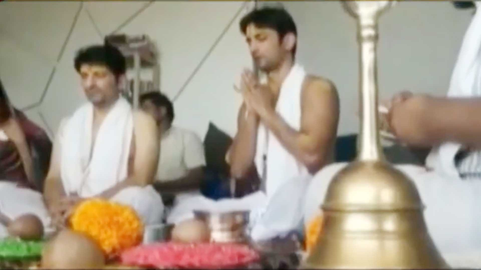 Old pooja video held at Sushant's house goes viral
