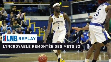 Replay : Metropolitans 92 - Limoges CSP (2019), la remontée de l'année !
