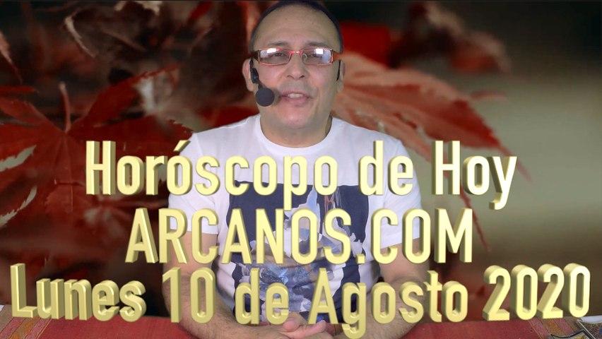 HOROSCOPO DE HOY de ARCANOS.COM - Lunes 10 de Agosto de 2020