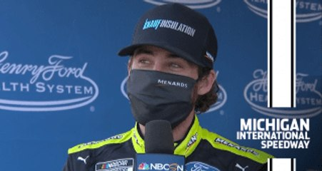 Blaney on wreck with Keselowski: 'Won't carry over, mistakes happen'
