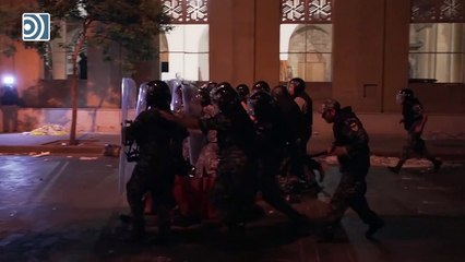 La violencia protagoniza las protestas en Beirut dejando un policía muerto y más de 170 heridos
