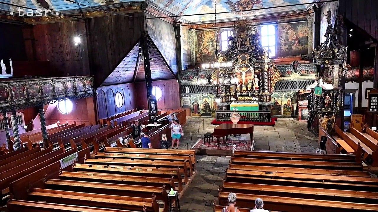 KEŽMAROK: Drevený artikulárny kostol podľa legendy pomáhali stavať švédski lodníci
