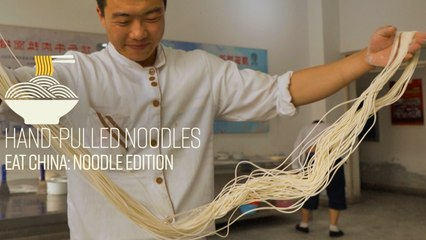 We Went to Noodle School and Learned How to Pull Noodles - Eat China (S2E1)
