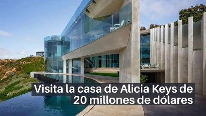 Visita la casa de Alicia Keys de 20 millones de dólares