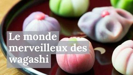 Le monde merveilleux des wagashi