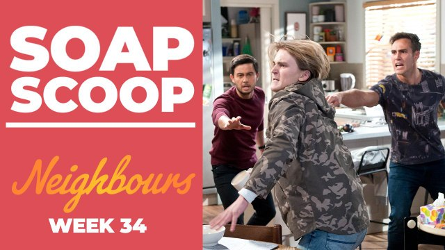 Neighbours Soap Scoop! David and Aaron are pushed too far