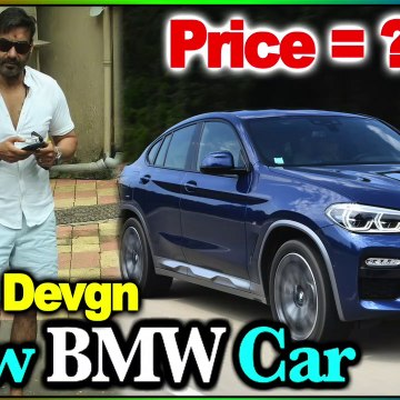 Ajay Devgn Spotted in Juhu with his New BMW Car | Ajay Devgan Car Collection 2020 | LIfestyle