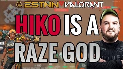 Valorant Guide: How Hiko Plays Raze Like a GOD