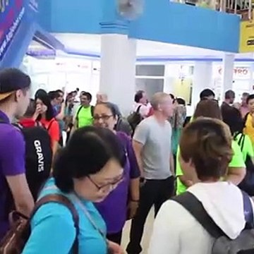 TVworkshop Company Retreat For AXA Singapore on Batam!