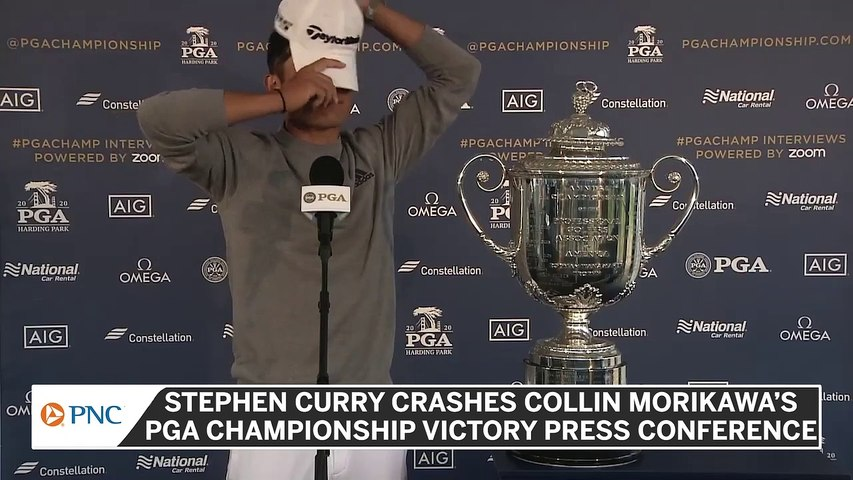 Stephen Curry Offers To Caddy For Collin Morikawa