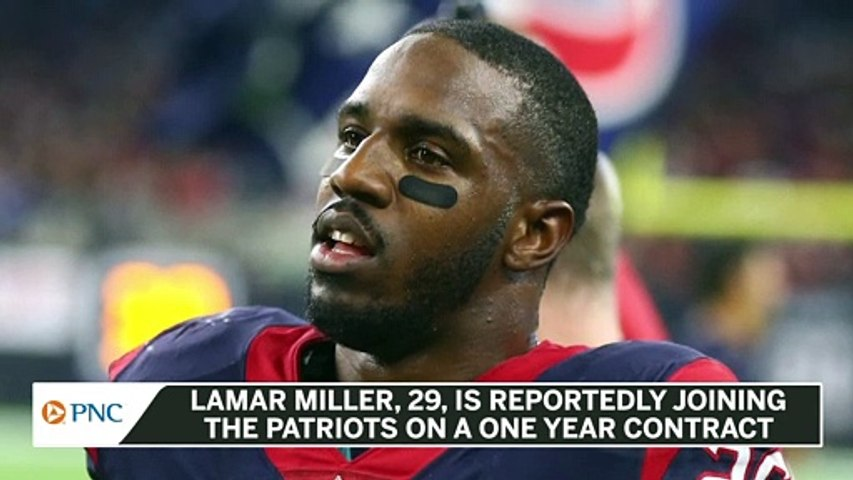 Report: Lamar Miller Joining Patriots On One Year Contract