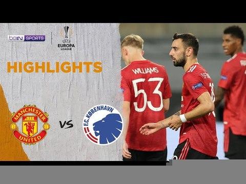 Man United 1-0 Copenhagen  Europa League 19/20 Match Highlights