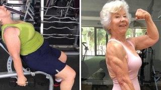 Elle décide de se mettre au sport à 70 ans, sa transformation est incroyable