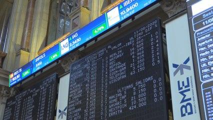 El Ibex 35 eleva al 2 % la subida inicial e intenta alcanzar los 7.200 puntos