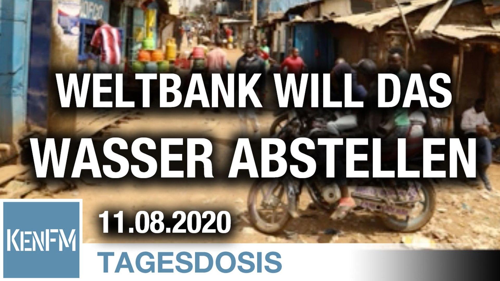 Die Weltbank will, dass inmitten der Pandemie Slumbewohnern das Wasser abgestellt wird | Von Norbert