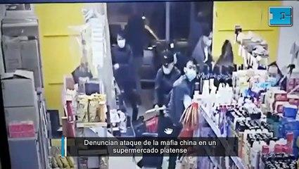 Denuncian ataque de la mafia china en un supermercado platense