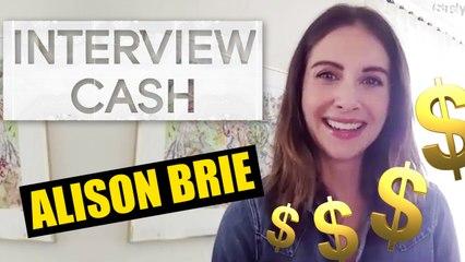 ALISON BRIE : son interview CA$H
