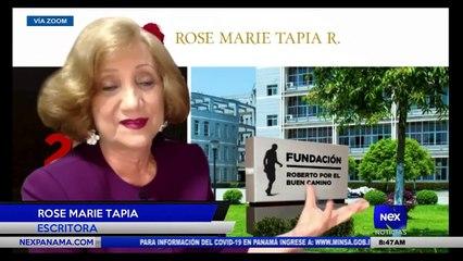 Entrevista a Rose Marie Tapia - Escritora  - Nex Noticias