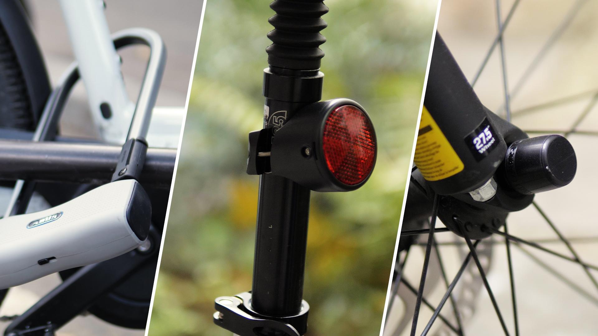 Nos 3 accessoires favoris pour sécuriser votre vélo