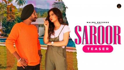 Davinder Bhatti Ft. Upma Sharma - SAROOR - Teaser | Latest Punjabi Songs 2020