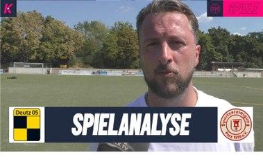 Spielanalyse   SV Deutz 05 II – SpVg Porz (Testspiel)