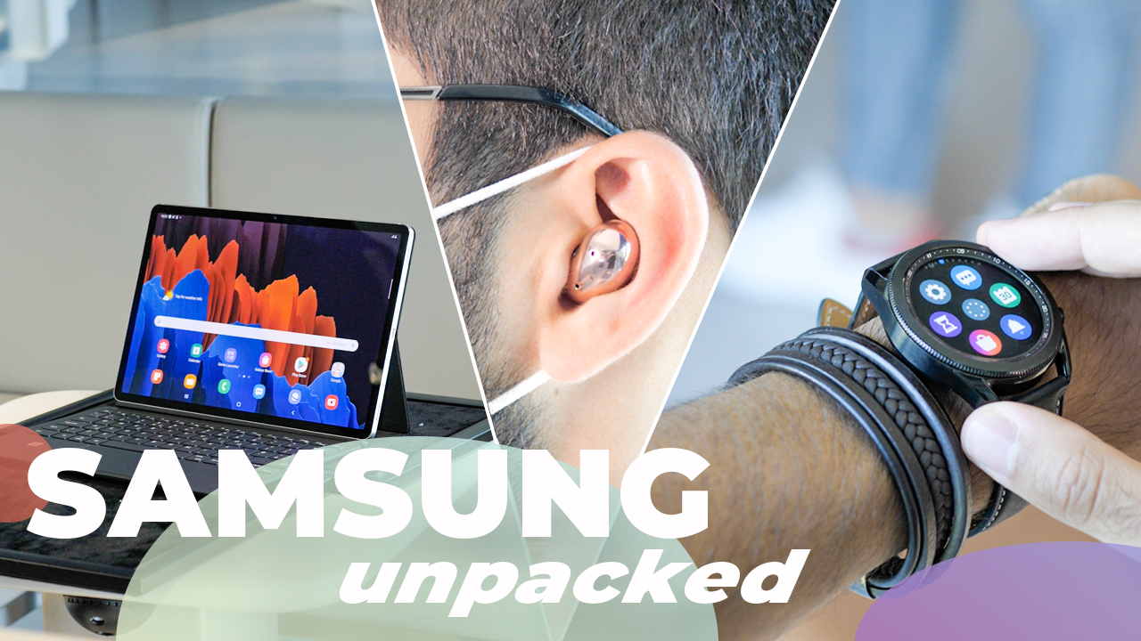 Samsung sort un CONCURRENT de l'iPad Pro ! (Galaxy Tab S7, Galaxy Buds Live et Galaxy Watch 3)