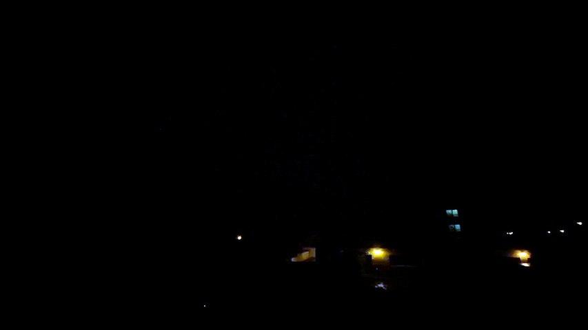Lightning in Haddington