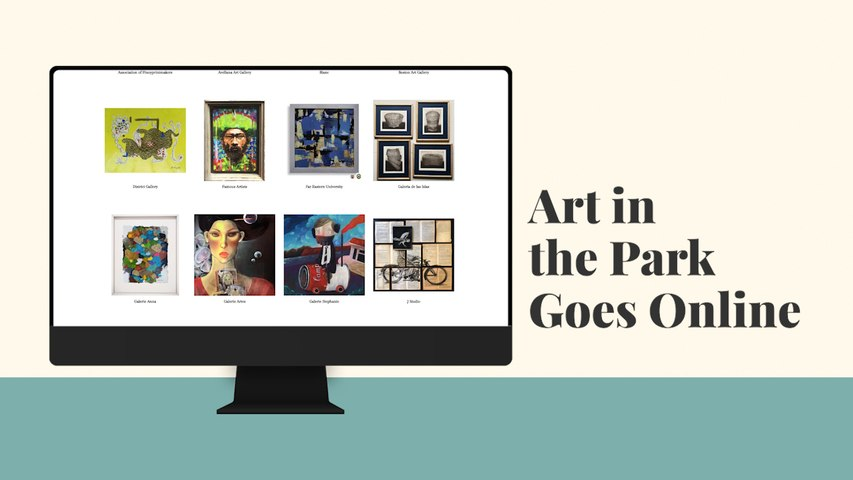 Art in the Park 2020 Goes Online