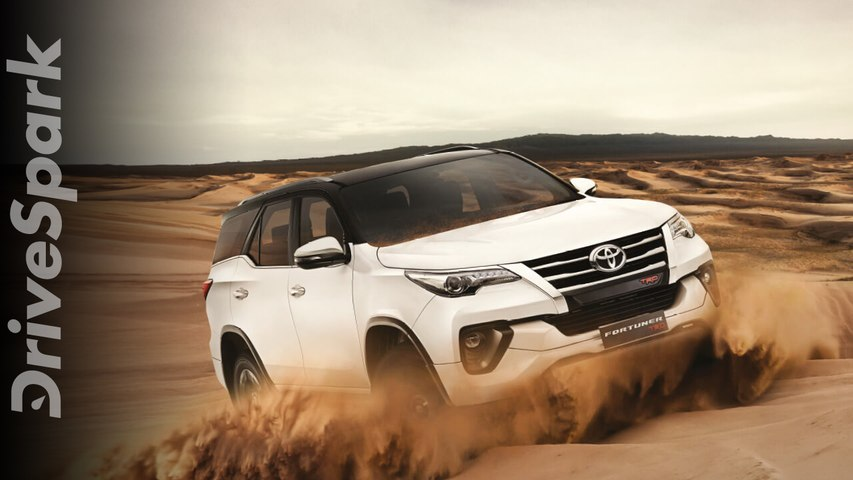 Toyota Fortuner TRD Launched In India