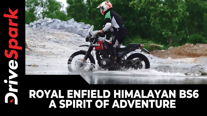 Royal Enfield Himalayan BS6 - A Spirit Of Adventure   Jobo Kuruvilla   Vivid Series