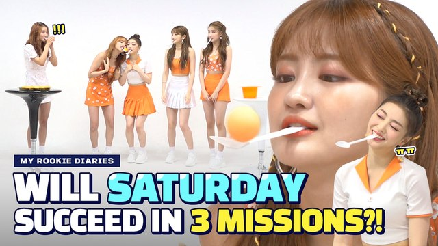 [Pops in Seoul] ☆MY ROOKIE DIARIES☆ 'SATURDAY(세러데이)' Edition!