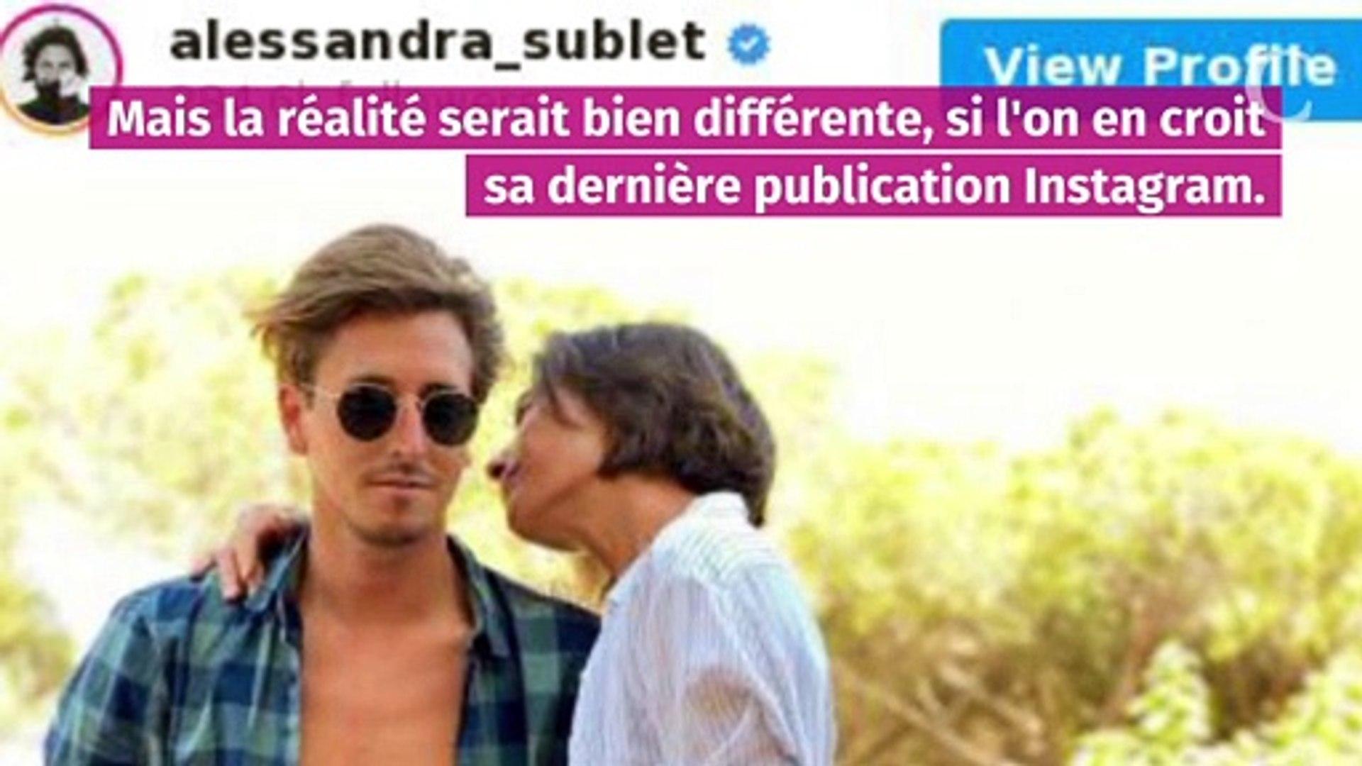 Alessandra Sublet Toujours En Couple C Est L Amour Fou Avec Jordan Video Dailymotion