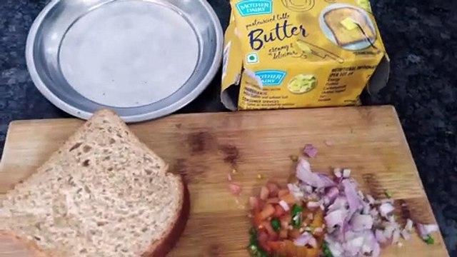 Lock down ? Quick Healthy Protein Base Breakfast By Husband Boiled Egg Sandwich Recipe| Egg Recipe