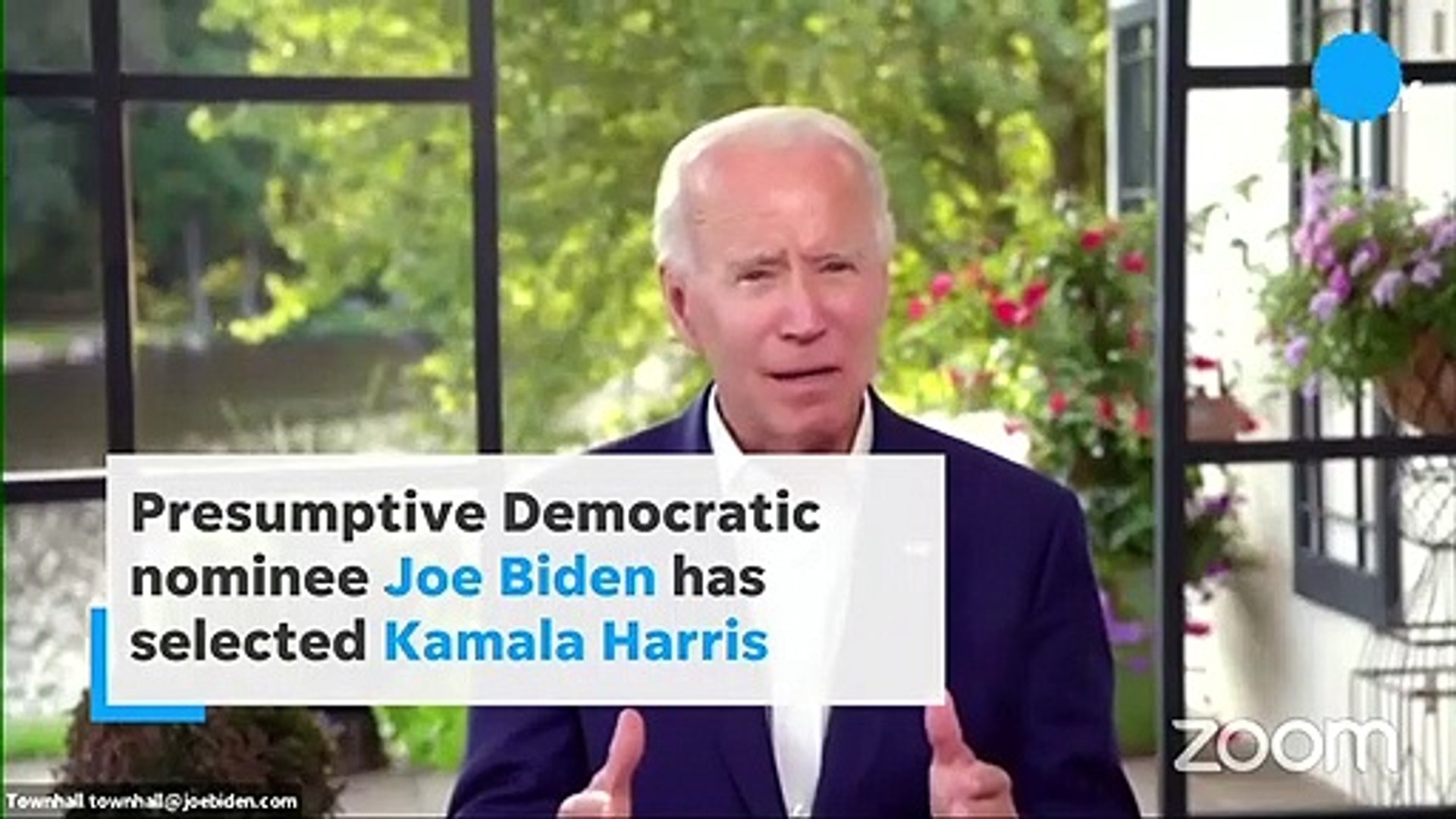 Joe Biden Picks Kamala Harris As Vp Running Mate For 2020 Election Video Dailymotion