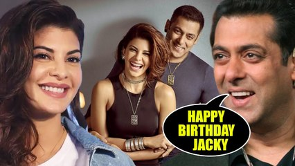 Salman Khan Wishes Jacqueline Fernandez On His 35th Birthday