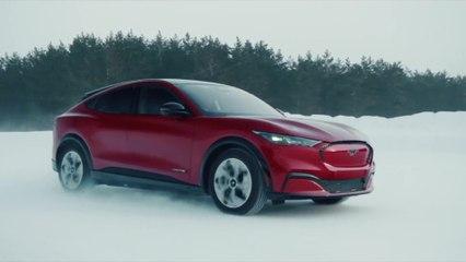 Voici la Ford Mustang Mach-E, 100% électrique, puissante et racée