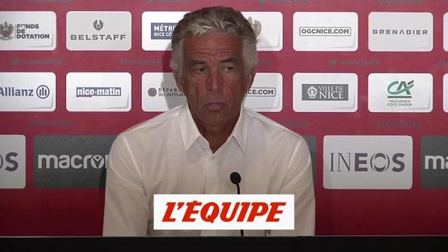 Rivère : «On va se priver de notre public pour ce premier match» - Foot - L1 - Nice