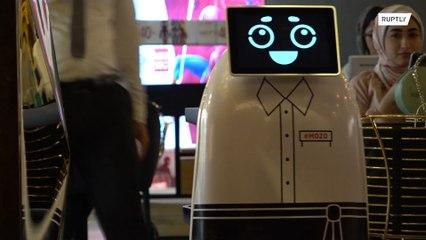 القاهرة: روبوتات لخدمة زبائن المطاعم !!!
