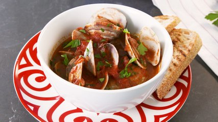 Harissa Clams Are Perfectly Spiced
