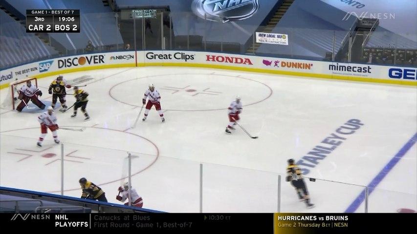 Bruins Highlights: David Krejci Nets Third Period Goal Vs. Hurricanes For 3-2 Lead