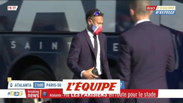 Nouvelle coiffure, lunettes et enceintes : Neymar est prêt pour l'Atalanta - Foot - C1 - PSG