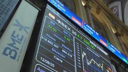 El Ibex 35 se acerca a 7.300 puntos tras subir un 0,45 %