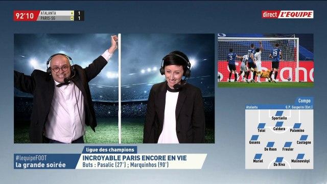 La Grande Soirée du 12 Aout - PSG - Atalanta Bergame, Ligue des Champions - Football - Replay