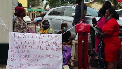 [  #Reportage] Les déflatés de l'Agence gabonaise de presse (AGP) sur le pied de guerre #GMT