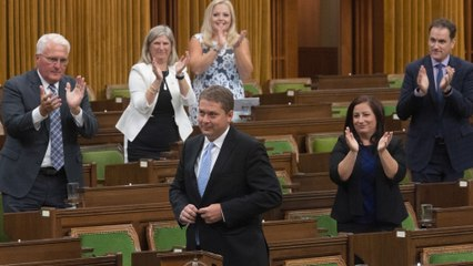 Conservative Leader Andrew Scheer marks his final day in the House of Commons as Opposition leader