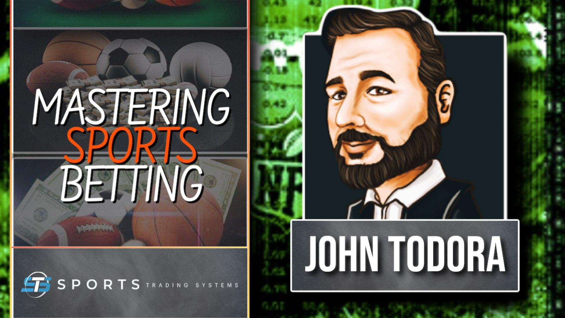 Mastering Sports Betting using Analytics with John Todora - video  Dailymotion